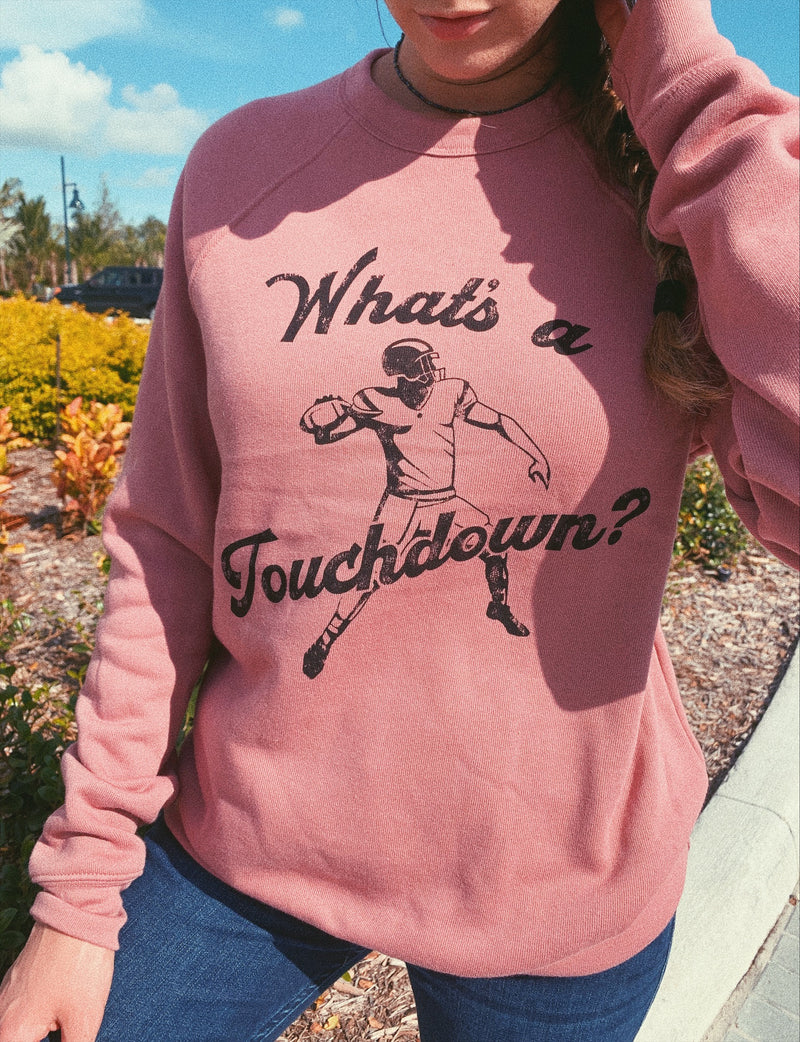 This funny football sweatshirt is sure to bring some laughter in someone's life.