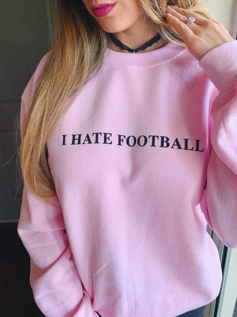 It's FOOTBALL SEASON and you know what that means?? It means your loved one will be ignoring you all Sunday long. Wear this funny football sweatshirt on Football Sunday to show your true love for the sport!  Edit alt text