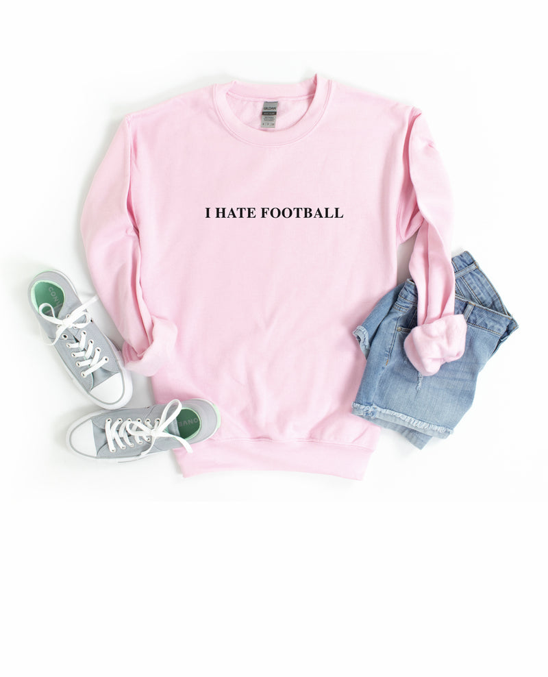 It's FOOTBALL SEASON and you know what that means?? It means your loved one will be ignoring you all Sunday long. Wear this funny football sweatshirt on Football Sunday to show your true love for the sport!