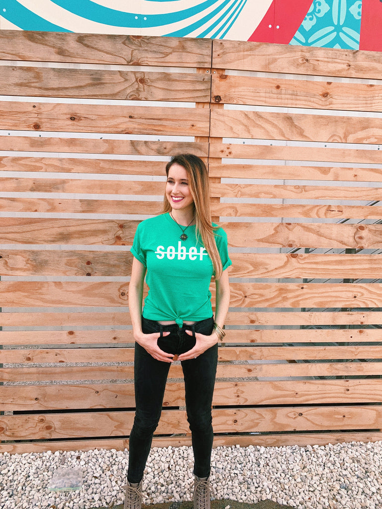 Get boozed this St Patrick's Day in this super soft tee for men and women!