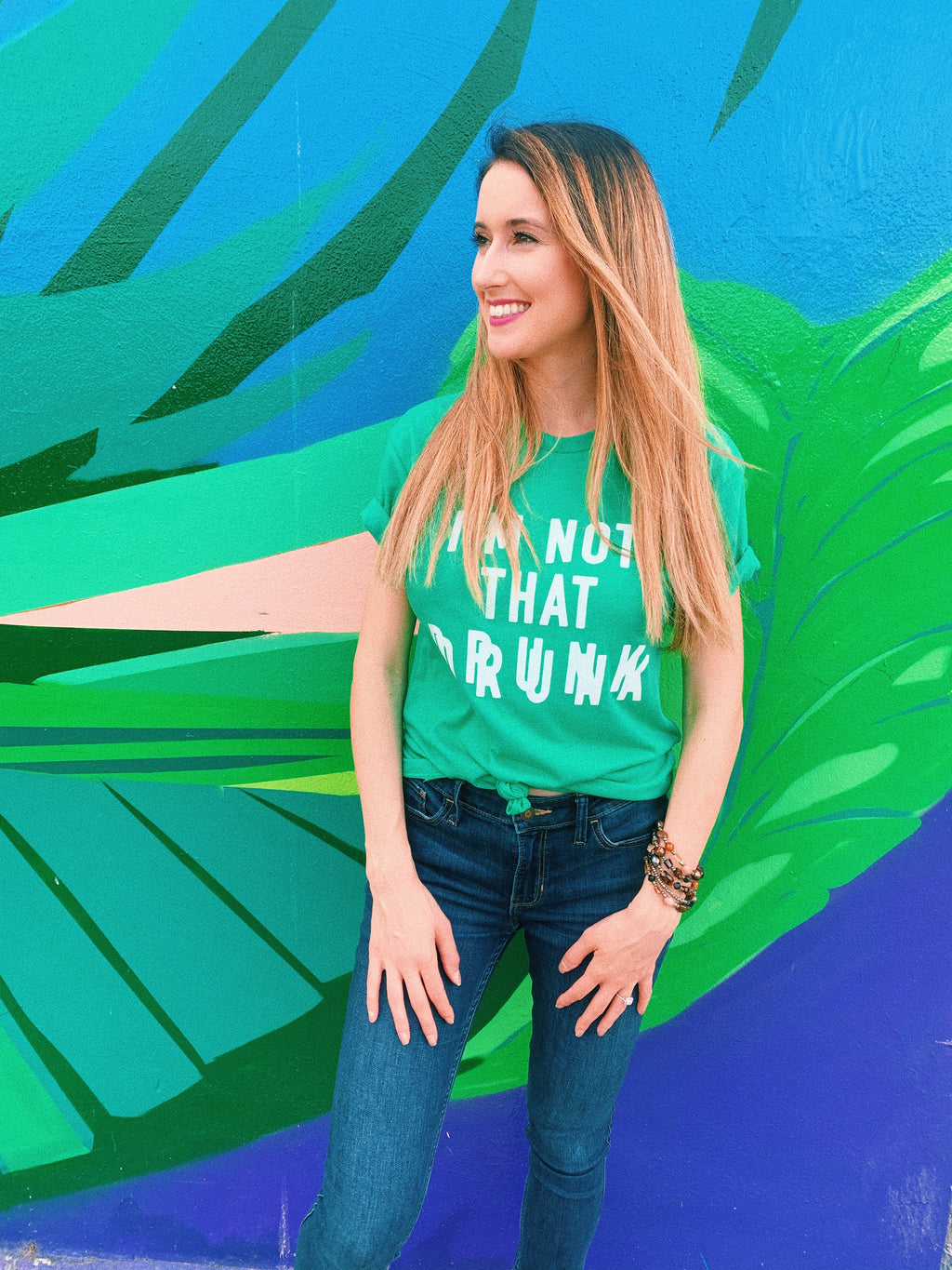 Let people know that you're NoT tHaT dRuNk this St. Patrick's Day! This funny St. Patrick's Day shirt is a great shirt to show that not only are you there to have a good time but you're also ready to get shamrocked.... ( if you're not already!)