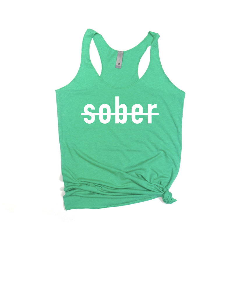 Get boozed this St Patrick's Day in this super soft tank for women! This funny St.Patty's Day tank is perfect to hit the pub and get a little tipsy! Funny St. Patrick's Day shirt for women!