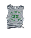 Celebrate this St.Patrick's Day by enjoying a nice cold beer that is not only tasty but Magically Delicious! This funny St. Patrick's Day tank is a great shirt to show that not only are you there to have a good time but you're also ready to get shamrocked