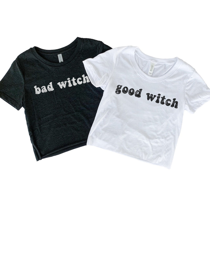 Are you a good witch or a bad witch? These cute matching halloween shirts are perfect for you and your best friend!