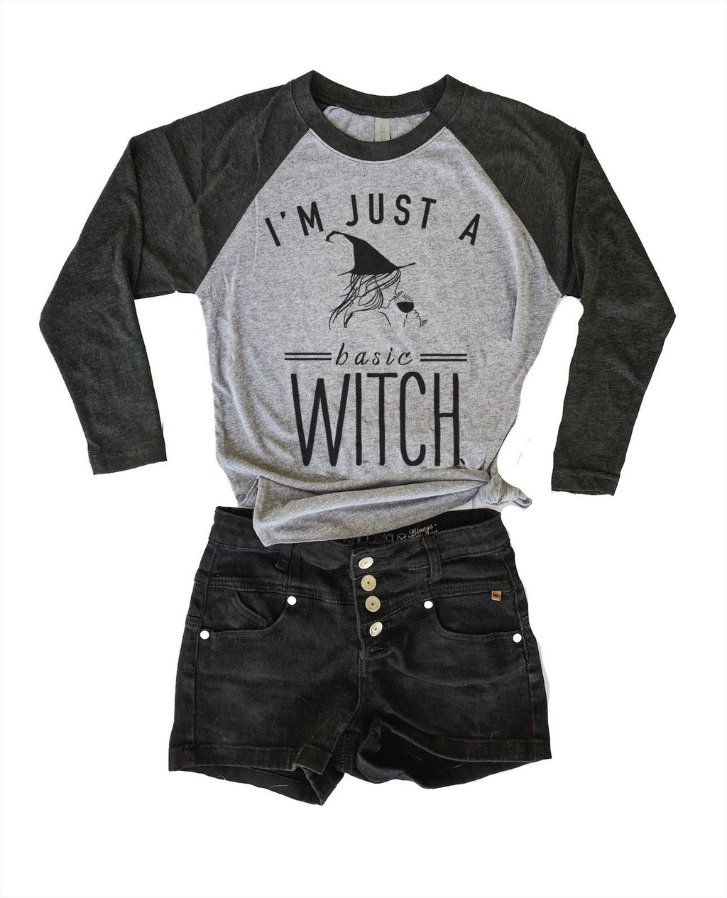 Be sure to get some laughs this year wearing our original Basic Witch design screen printed on our super duper soft and cozy unisex tee! So grab a glass of wine and enjoy being a Basic Witch with this Halloween tee!