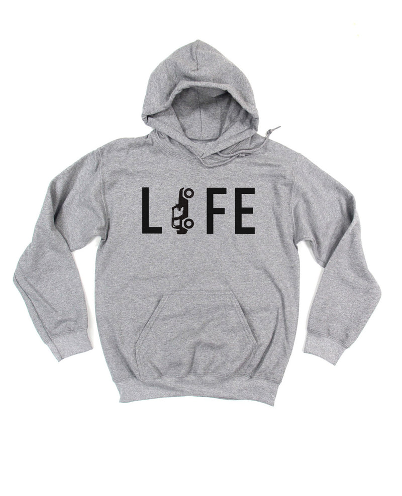 Jeep Life is the best life! This Jeep hoodie for men and women is the perfect gift for a jeep lover in your life!