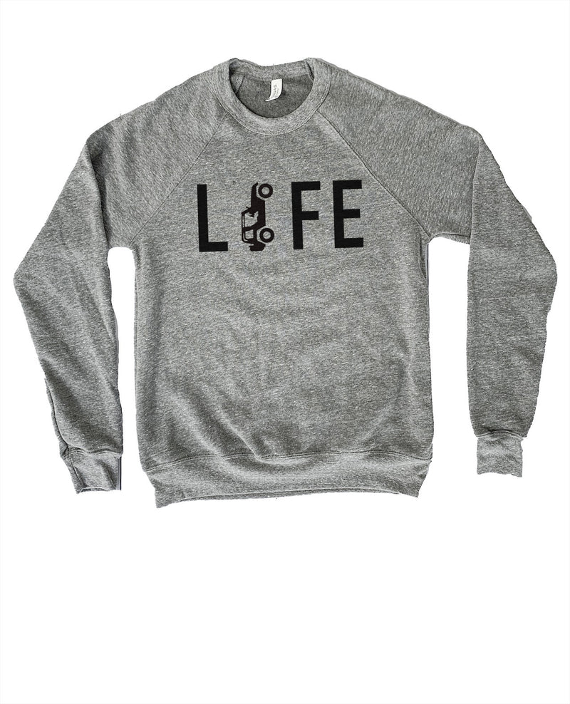 Jeep Life is the best life! This Jeep sweatshirt for men is the perfect gift for a jeep lover in your life!
