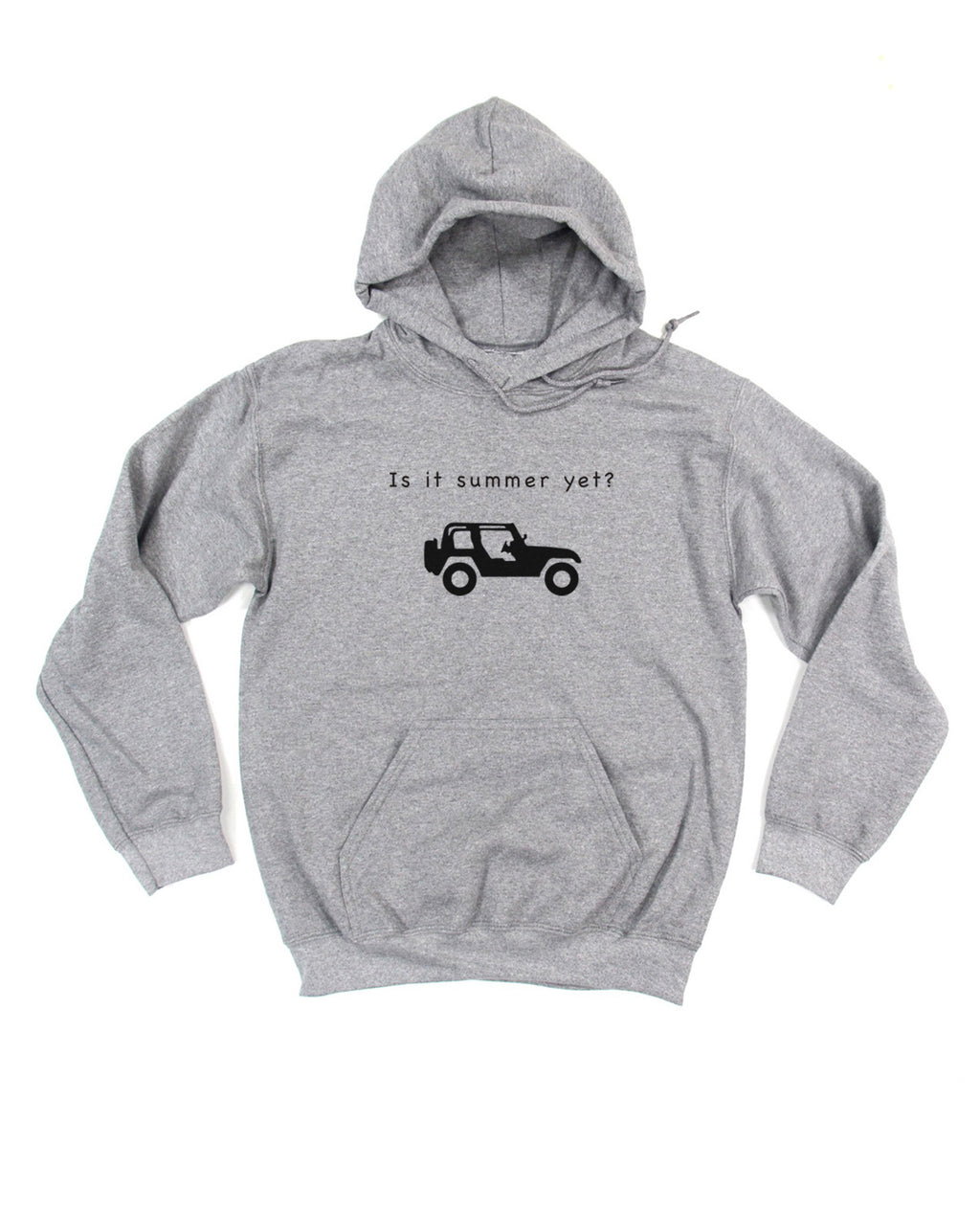 IS IT SUMMER YET JEEP HOODIE