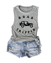 JEEP ROAD TRIPPIN MUSCLE TANK