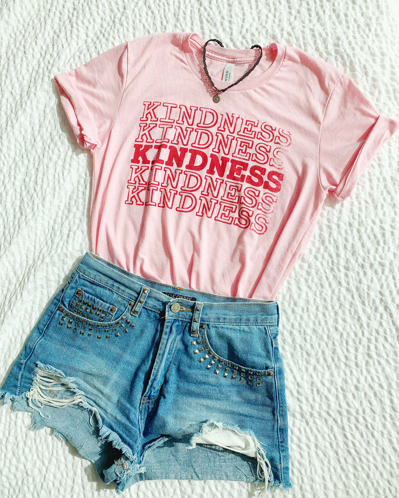 This cute Kindness tee is perfect to let everyone know that you're all about the positive vibes! This motivational shirt is a great inspirational tee to spread positivity and love!