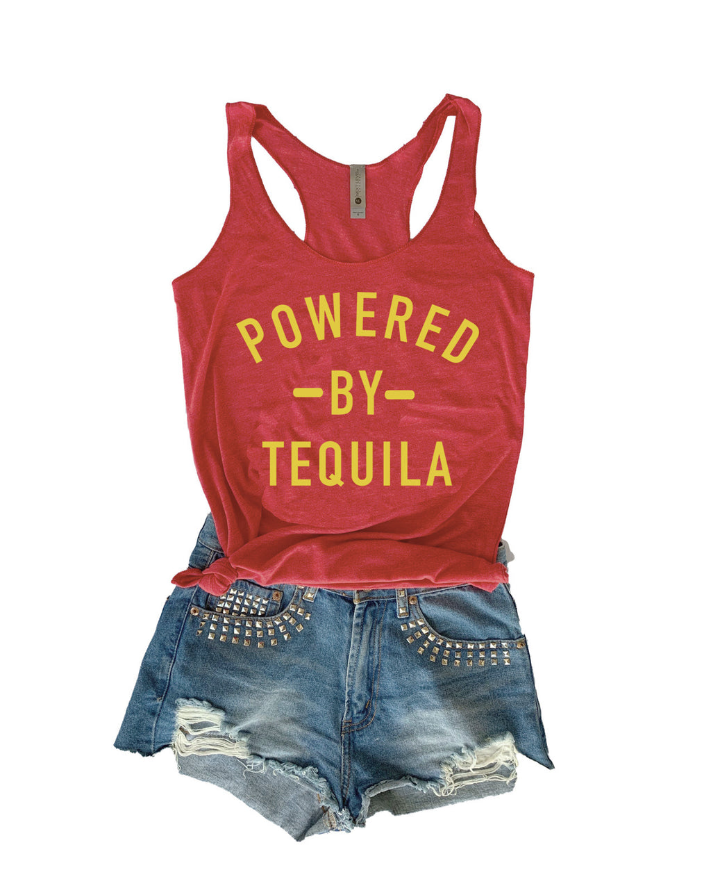 POWERED BY TEQUILA TANK TOP