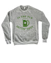 Ready to celebrate St. Patty's Day with style and humor? This cute In The Pub Gettin' Tipsy sweatshirt is a great St.Patrick's Day sweatshirt to show that not only are you there to have a good time but you're also ready to get shamrocked!