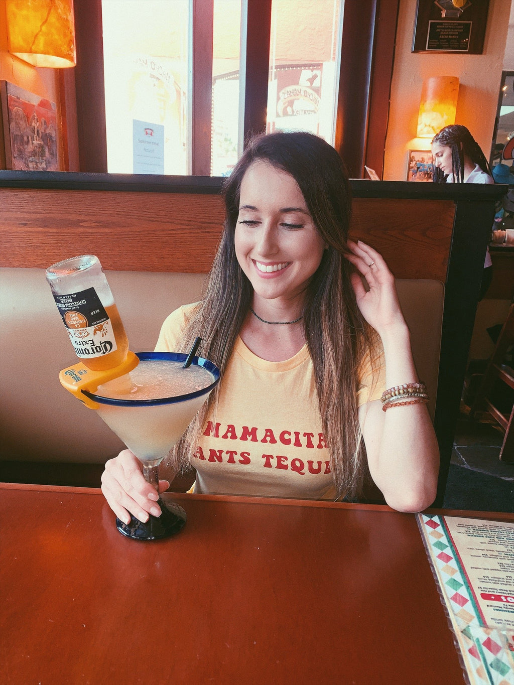 Wear this super cute Mamacita Wants Tequila shirt to all your festivities and bachelorette parties! Perfect tequila tee to enjoy a nice cold margarita!