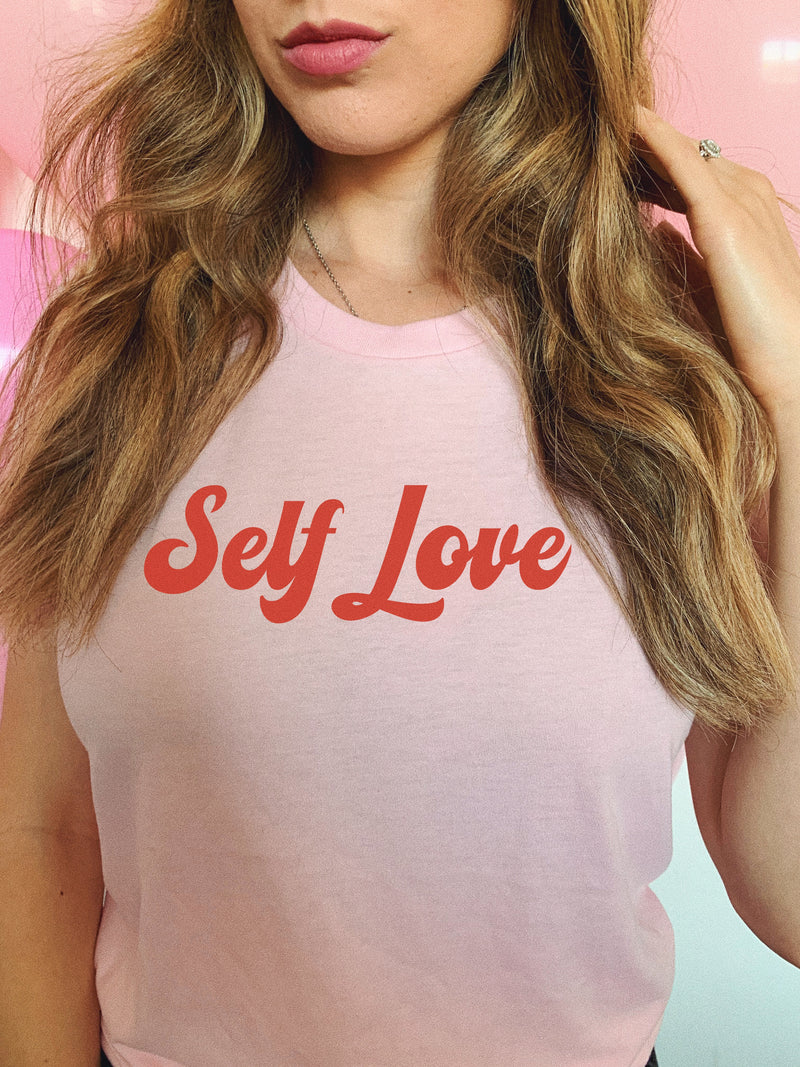 This cute self love tee is a great reminder that you should always love yourself! <3
