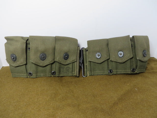 WW2 US Army M2 Grand ammo belt mint NOS Item