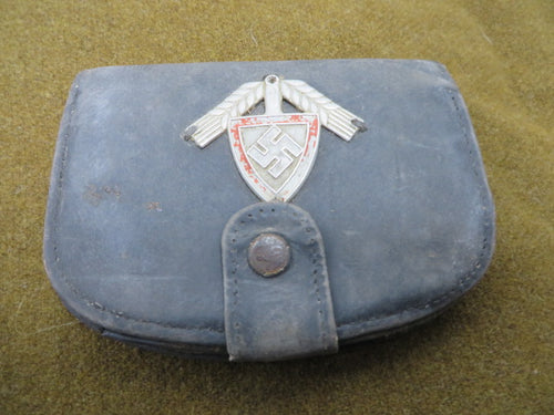 WW2 German Luft and Rad soldiers wallet US vets estate found