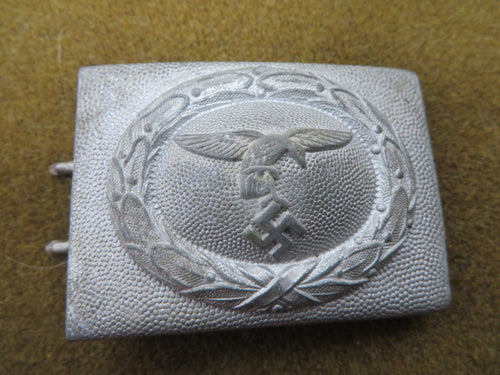 WW2 Original German Luftwaffe EM Belt buckle a nice one.