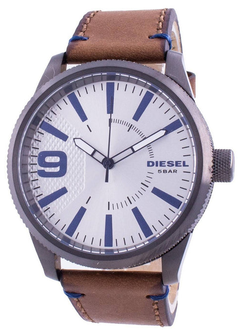 Diesel Rasp Nsbb Silver Dial Quartz Dz1905 Men's Watch