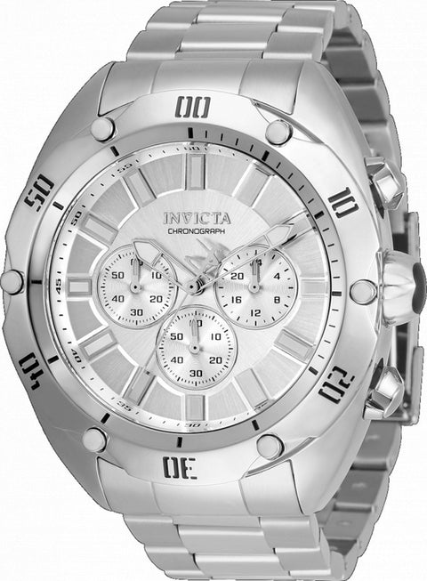 Invicta Venom Chronograph Silver Dial Quartz 33749 100m Men's Watch
