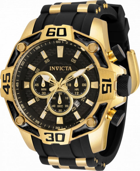 Invicta Pro Diver Chronograph Quartz 33837 100m Men's Watch