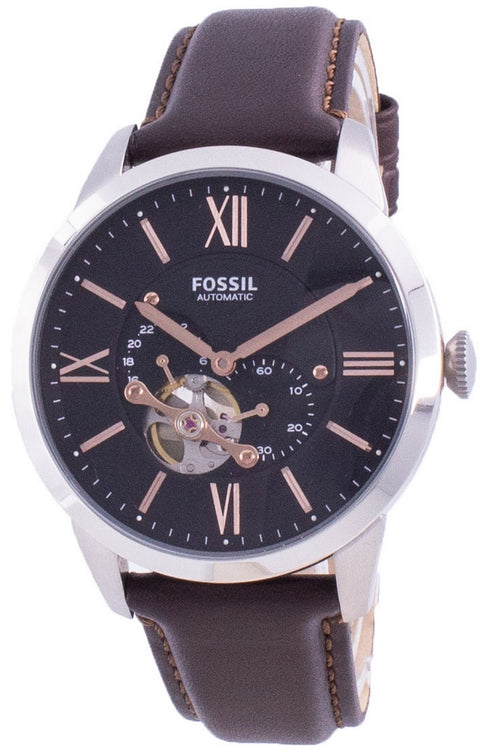 Fossil Townsman Automatic Open Heart Dial Me3061 Men's Watch