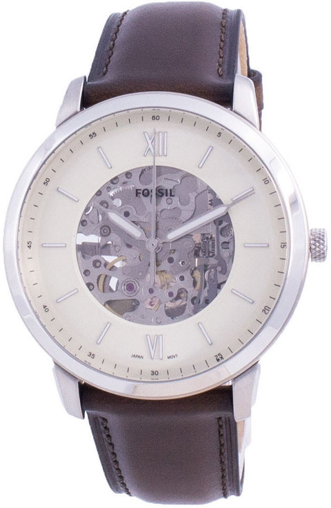 Fossil Neutra Skeleton Dial Automatic Me3184 Men's Watch