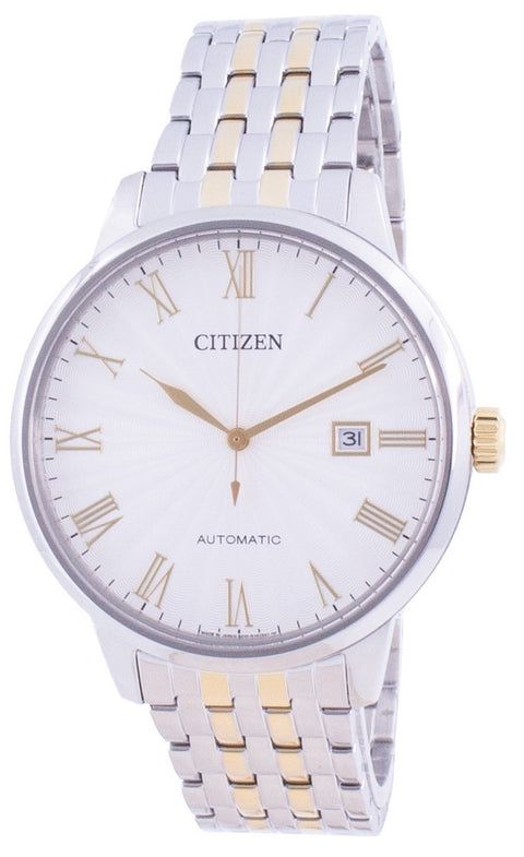Citizen Silver Dial Automatic Nj0084-59a Japan Made Men's Watch