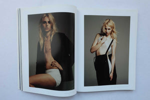 story with Model Andrej Pejic, one of the first gender neutral men to appear in fashion.