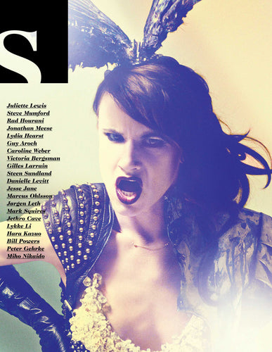 Featuring Juliette Lewis, Danielle Levitt, Jesse Jane, Jørgen Leth, Bill Powers, Lykke Li, MArcus Ohlsson, Rad Hourani, Jonathan Meese, Guy Aroch and many more