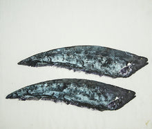 Load image into Gallery viewer, Gyotaku Fish Print 057 - Knifefish (17.25 x 15.5 in.)