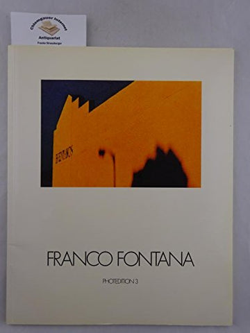 Franco Fontana (Photedition) (German Edition)