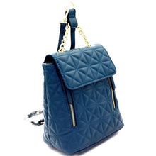 "Load image into Gallery viewer, ""Akeela"" Quilted Backpack - Dark Teal"