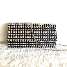 "Load image into Gallery viewer, ""Silver Glam"" Clutch Shoulder Bag"