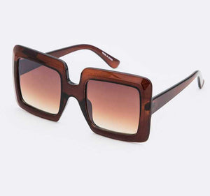 """Cabana Girl"" Sunglasses- Brown"