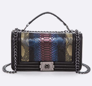 """Brittney"" Shoulder Bag- Multi Color"
