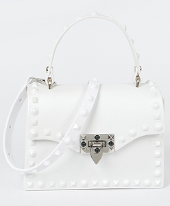 """Fashionista"" Handbag- White"