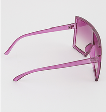 "Load image into Gallery viewer, ""Trip to Miami"" Oversized Shield Glasses"