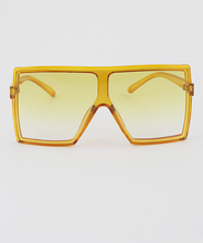 Load image into Gallery viewer, yellow shield sunglasses