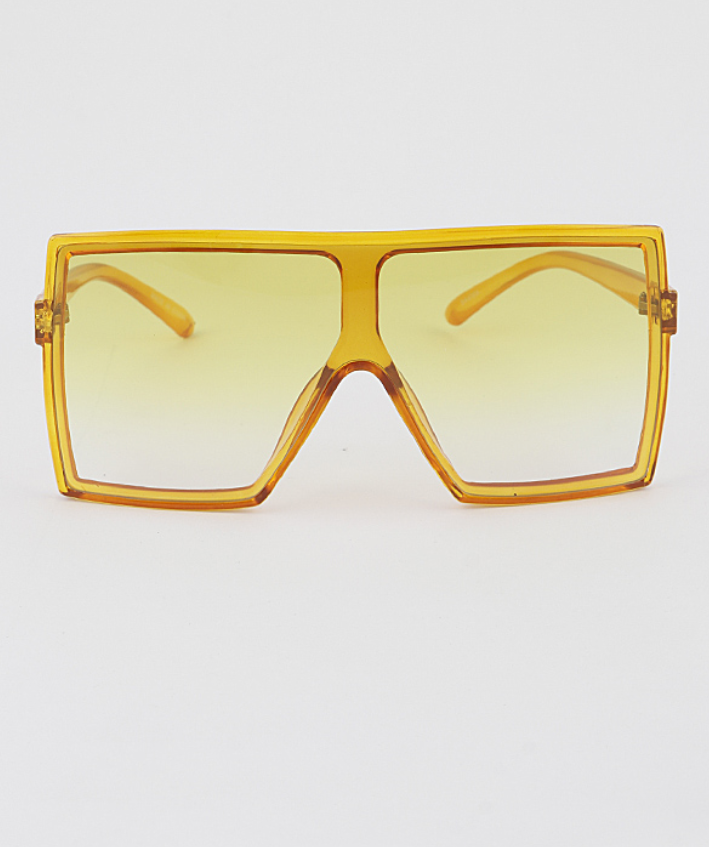 yellow shield sunglasses