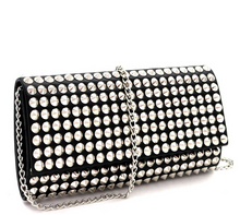 Load image into Gallery viewer, allover cone clutch bag
