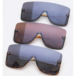 """Crenshaw"" Iconic Shield Sunglasses"