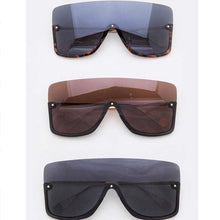 "Load image into Gallery viewer, ""Crenshaw"" Iconic Shield Sunglasses"