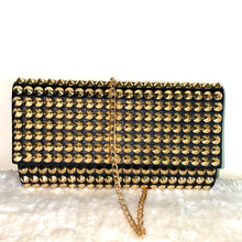 "Load image into Gallery viewer, ""Gold Glam"" Clutch Shoulder Bag"