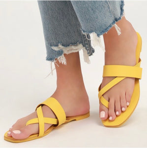 """Yellow Dream"" Sandals"