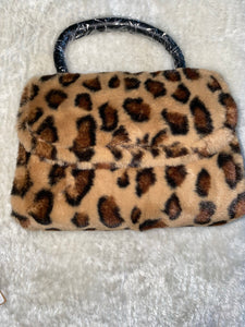 """Buttercup"" Small Leopard Satchel"