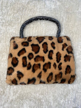 "Load image into Gallery viewer, ""Buttercup"" Small Leopard Satchel"