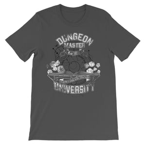 Dungeon Master University T-shirt Short Sleeve T-shirt