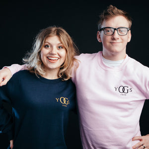 Yogscast Embroidered Logo Sweatshirt (Navy)