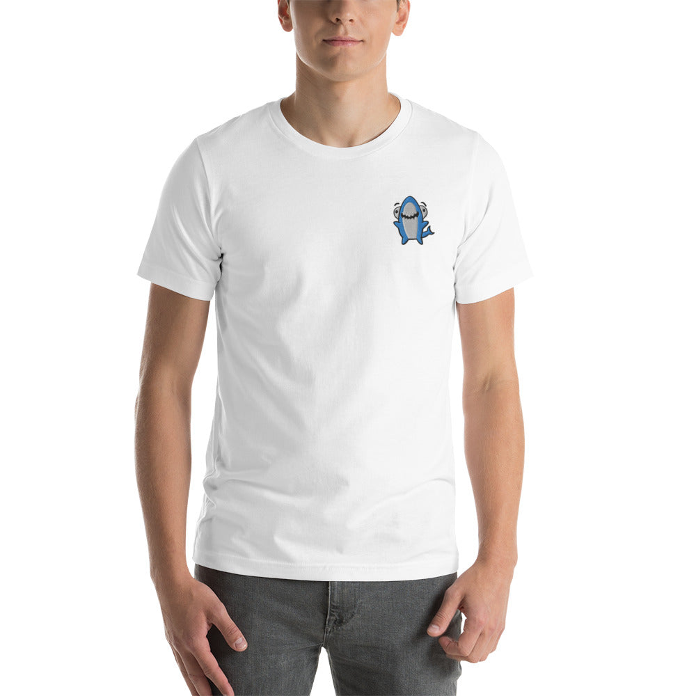TTT Embrodiered Sharky Character T-shirt