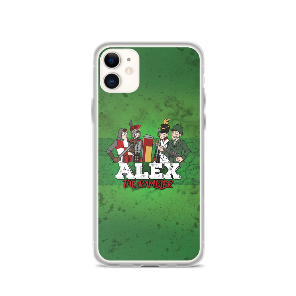 Alex the Rambler iPhone Case